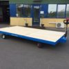 Flatbed Truck with extra long platform