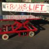Flatbed Truck with lifting table